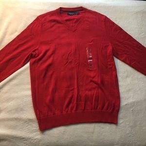 Men's NWT Nautica V neck Sweater Size: S